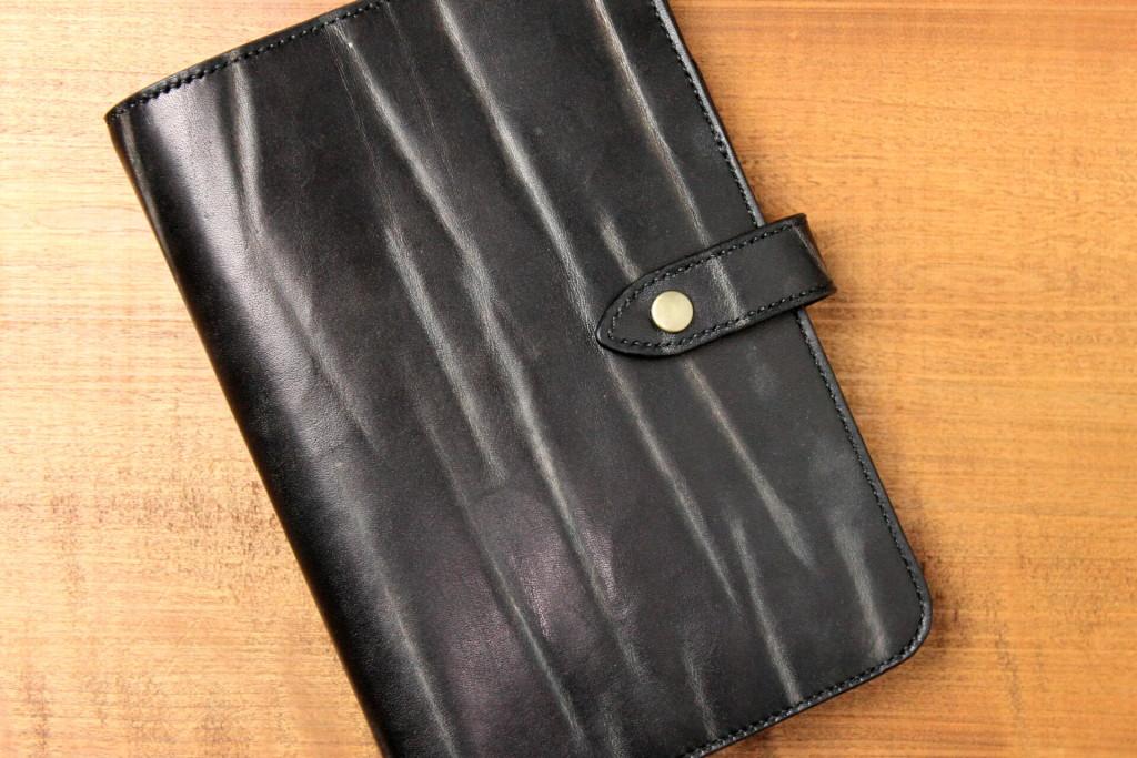手縫い・手染めのシステム手帳